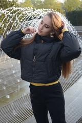 Куртка женская зимняя короткая дутая Nadya магазин
