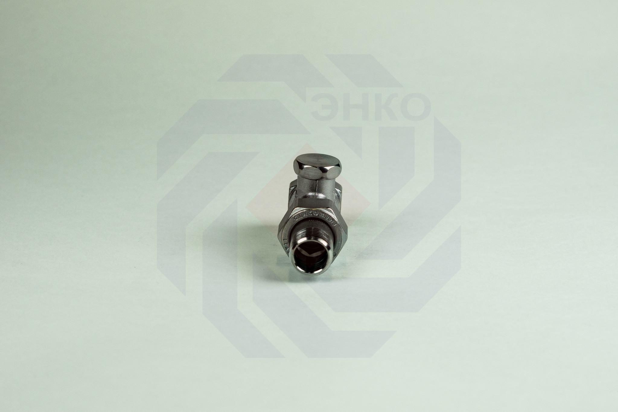 Клапан радиаторный отсечной GIACOMINI R17D2 прямой ¾