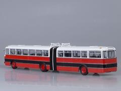 Ikarus 180 Bulgaria red-black Soviet Bus (SOVA) (SOVA) 1:43