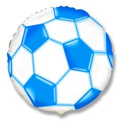F 18''/46см, Круг, Футбольный мяч (синий).