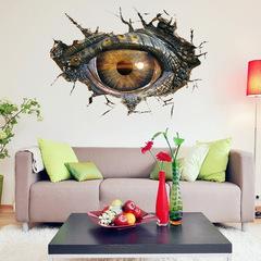 Парк юрского периода 3D наклейка Глаз динозавра — Jurassic Park