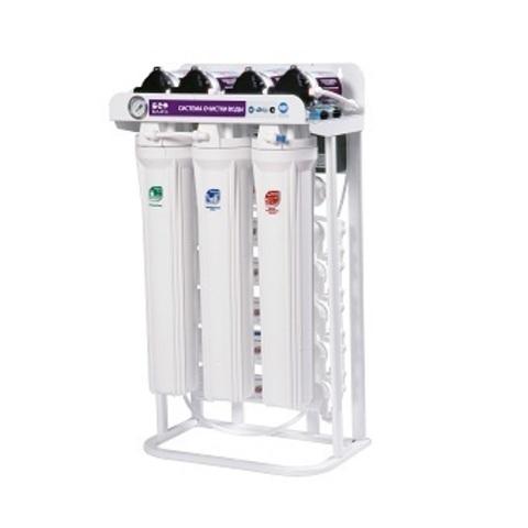Водоочиститель RO 388 BW - 220EZ (три мембаны 100G, насос ПД, 36 л/ч или 1134 л/сут), Райфил