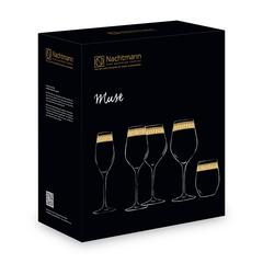 Набор из 2 хрустальных фужеров для шампанского Muse, 300 мл, фото 3