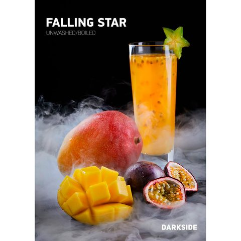 Табак для кальяна Dark Side Core 100 гр Falling star, магазин FOHM