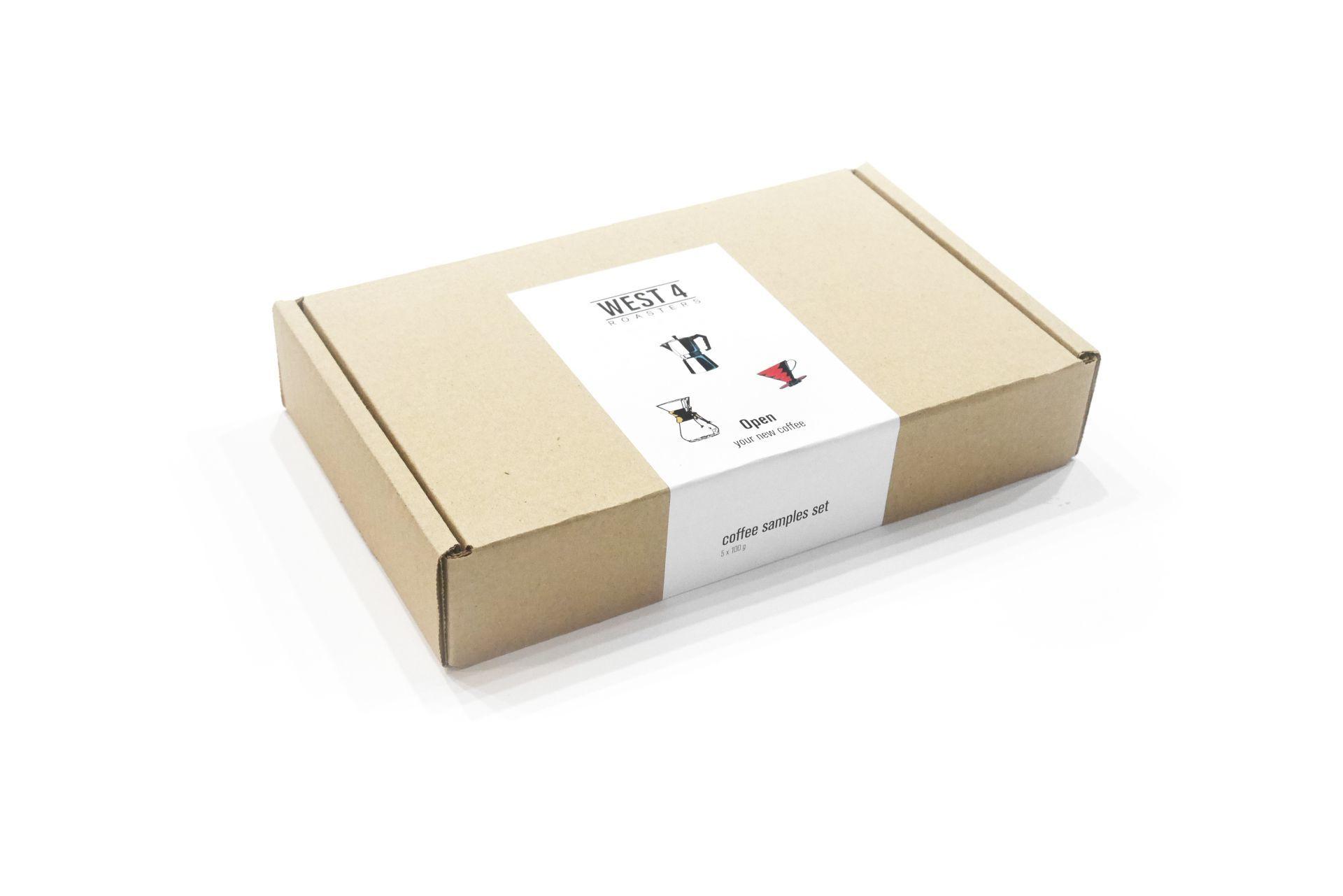 Sample Box WEST 4 Roasters: 5 моносортов по 100 г