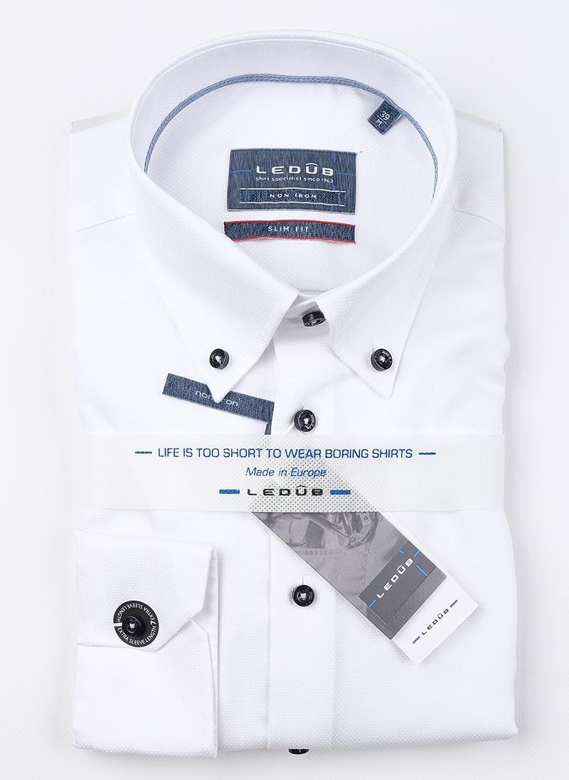 Рубашка Ledub slim fit 0139097-910-140-000