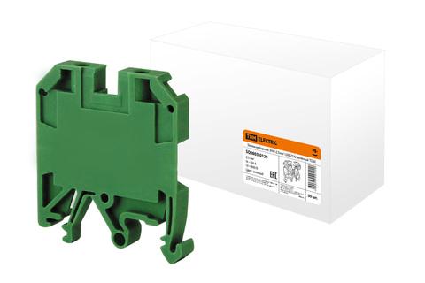 Зажим наборный ЗНИ-2,5мм2 (JXB25А) зеленый TDM