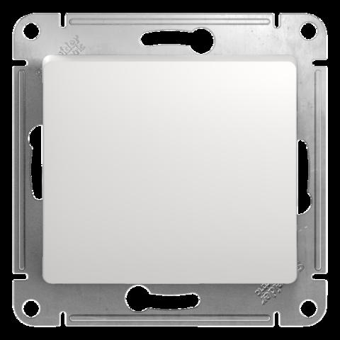 Выключатель одноклавишный, 10АХ. Цвет Белый. Schneider Electric Glossa. GSL000111