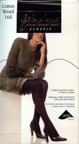 Колготки Filodoro Classic Cotton Wool 160