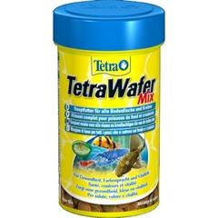 Корм в мини-чипсах для всех мелких донных рыб, TetraWaferMix Mini