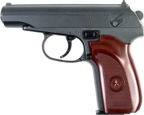 Cтрайкбольный пистолет Galaxy G.29 Пистолет Макарова, металлический, пружинный