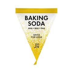 J:on Скраб для лица с содой - Baking soda gentle pore scrub