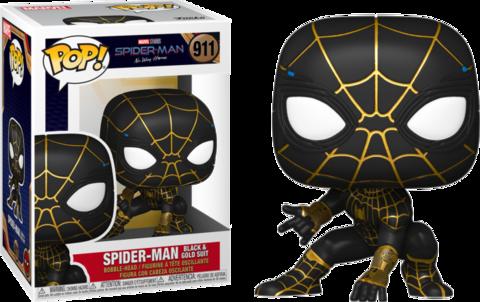 Фигурка Funko Pop! Marvel: Spider-Man: No Way Home - Spider-Man in Black and Gold Suit