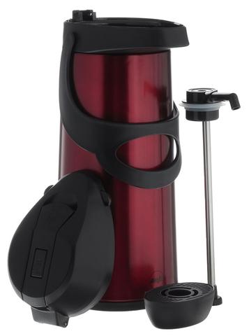 Термос Emsa Pronto с пневмонасосом (1,9 литра), красный