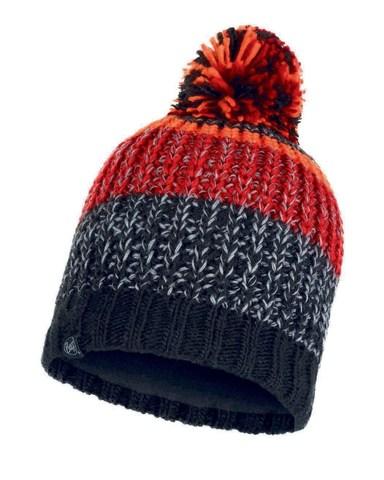 Шапка вязаная с флисом Buff Hat Knitted Polar Stig Black фото 1