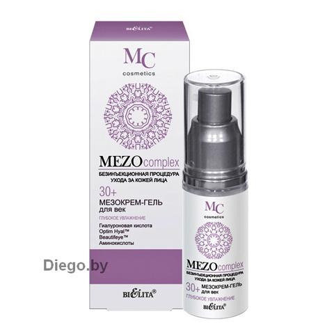 Мезокрем-гель для век Глубокое увлажнение 30+ , 30 мл ( Mezo Complex )