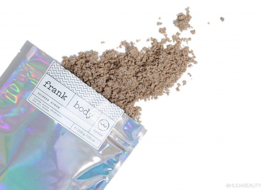 Скраб-шиммер кофейный для тела Frank Body Shimmer Scrub 220гр