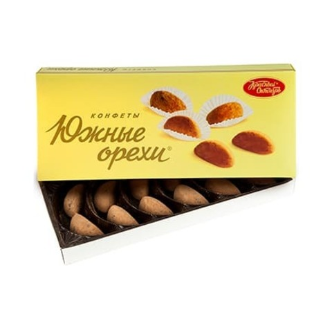 Конфеты в коробке Южные орехи 145г, Красный Октябрь