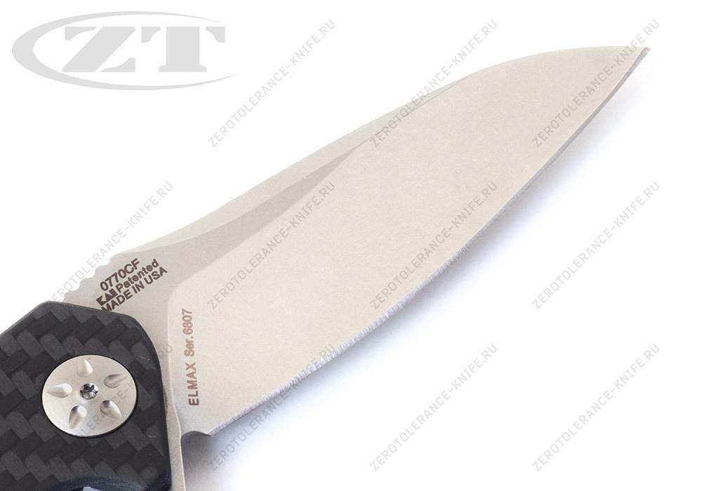 Нож Zero Tolerance 0770CF Elmax - фотография
