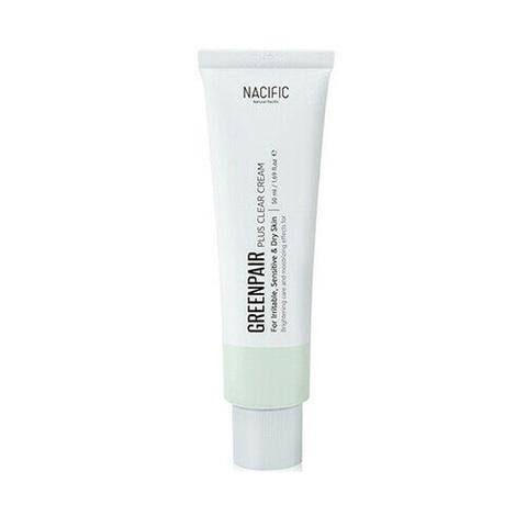Успокаивающий Крем Для Проблемной И Чувствительной Кожи С Центеллой NACIFIC Green Pair Plus Clear Cream