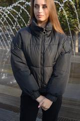Куртка женская зимняя короткая дутая Nadya оптом