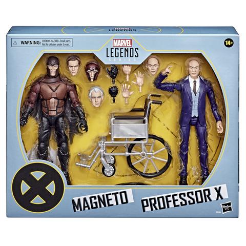 Marvel Legends Magneto and Professor X    Магнето и Профессор Икс