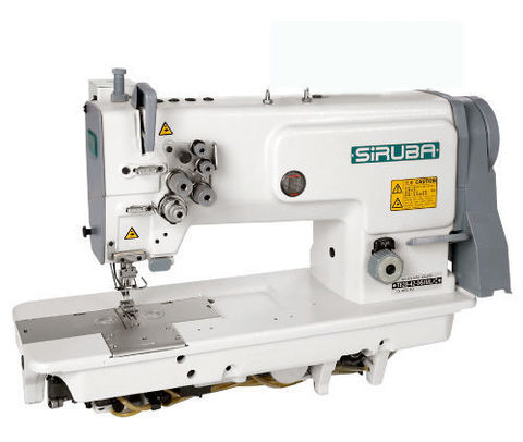 Прямострочная универсальная двухигольная швейная машина Siruba T828-42-064M | Soliy.com.ua