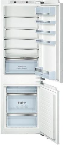Встраиваемый двухкамерный холодильник Bosch KIN86HD20R