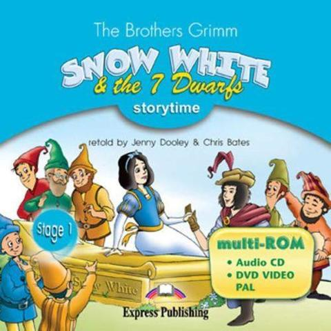 snow white & the seven dwarfs multi-rom