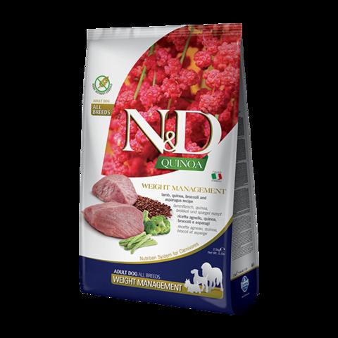 Farmina Quinoa Weight Management Lamb Сухой корм для собак для контроля веса Ягненок с Киноа беззерновой