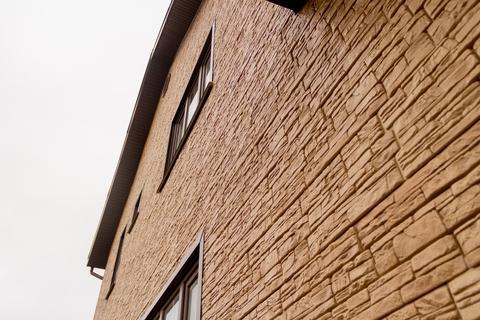 Фасадные панели GRAND LINE Я-Фасад Скала Слоновая кость
