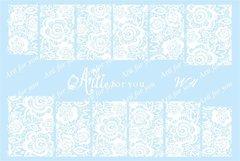Слайдер наклейки Arti for you цвет белый №W4