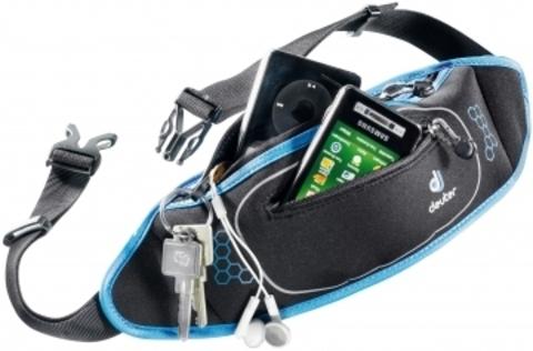 Картинка сумка для бега Deuter Neo Belt II black-coolblue - 1