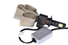 LED лампы головного света C-3 H7, (гибкий кулер) комп.