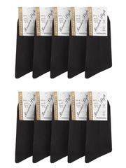 18 носки мужские, черные (10шт)