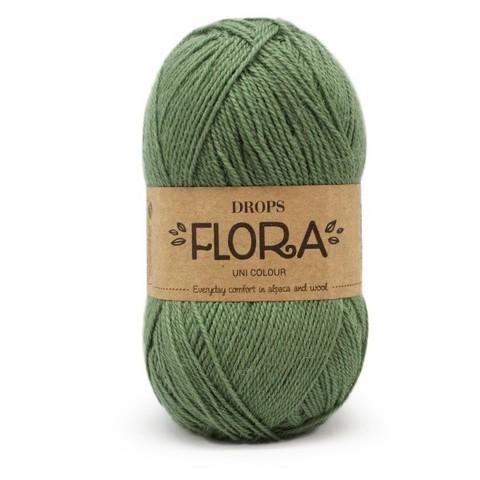 Пряжа Drops Flora 15 полынь