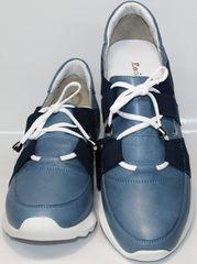 Сникерсы кроссовки Ledy West 1484 115 Blue.