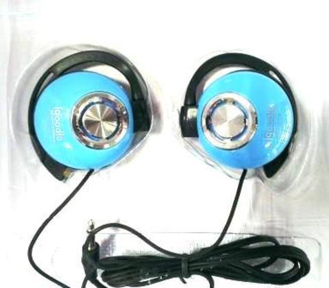 Наушники Igoodlo IG-2230 клипсы голубой