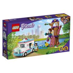 Lego konstruktor Friends Vet Clinic Ambulance