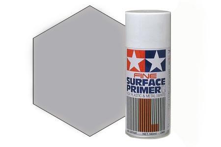 Грунты для аэрографа Tamiya Surface Primer Gray, Грунт в аэрозоли Серый, 180 мл 87042_111111.jpg