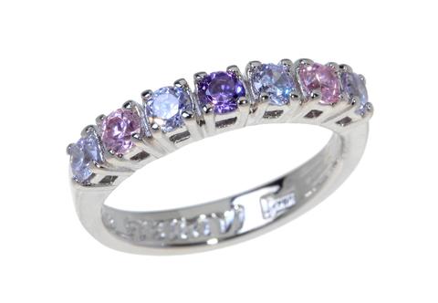 Кольцо с серебрением Вей