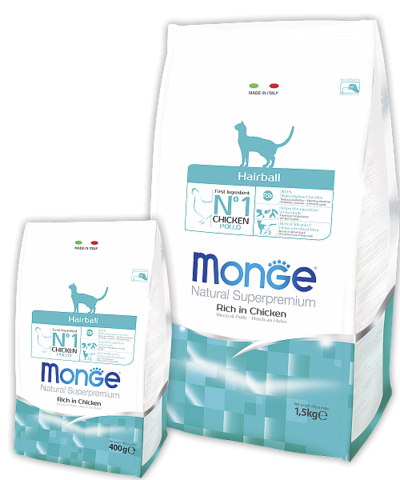Сухой корм Monge Cat Adult Hairball