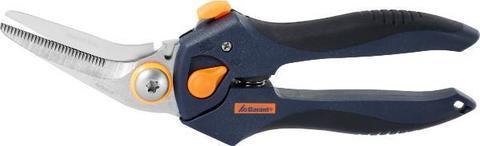 Комбинир. ножницы с 2-комп. ручками отогнутые, с регулировкой угла раскрытия 205 мм