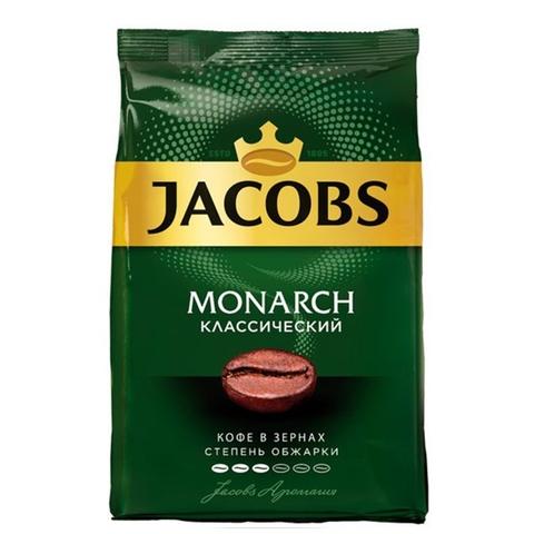 Кофе JACOBS MONARCH Классический зерно 800 г РОССИЯ