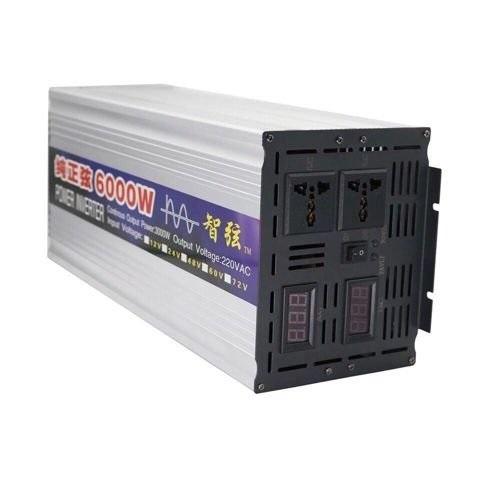 Японский Инвертор 12-220V 6000W 12 на 220вольт 6000 Ват