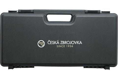 Кейс для пистолетов Ceska Zbrojovka (CZ) черный (пластик) Италия (артикул 17381)