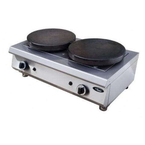 Блинный аппарат Grill Master Ф2БкрГ газовый (2 поверхности)  2х380мм