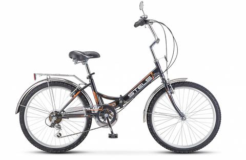 Складной велосипед Stels Pilot-750 серый