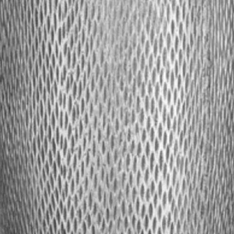 MESHV30-SLV Кашпо Лотус Высокое Круглое, файберстоун, себро, D30 H58 cm