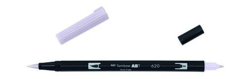 Маркер-кисть Tombow ABT Dual Brush Pen-620, сиреневый